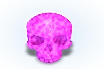 Pink Goo! Skull