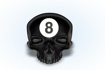8 Ball Skull Series II