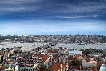 Istanbul cityscape, Turkey.
