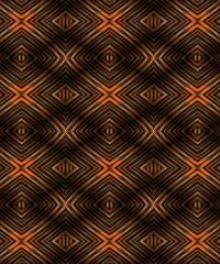 Glazed Wood Abstract Geometric Pattern