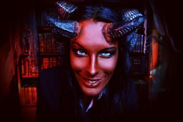 smiling devil