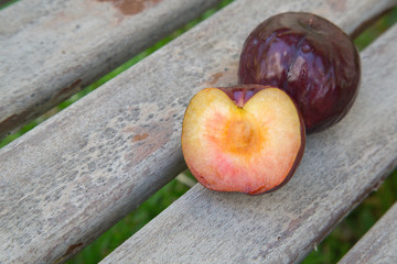 One and a half plum