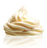 Cream isolated