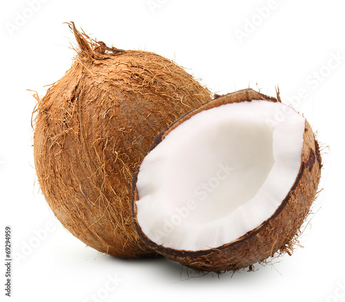 Papiers peints Condiment Coconut isolated