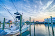View of Sportfishing boats at Marina - 69295325