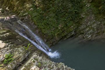 Водопад в каньоне Прохладный. Сочинский национальный парк