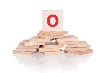 Alphabet - letter O