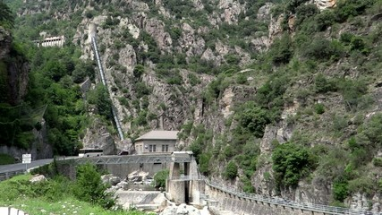 provence, france, hydroelectric power plant