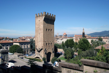 Старая башня во Флоренции