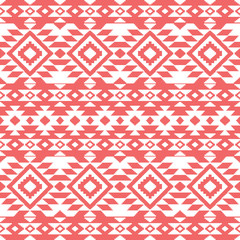 Abstract aztec ornamental pattern