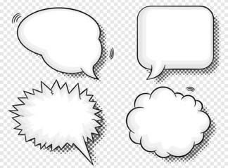Comic Sprechblasen