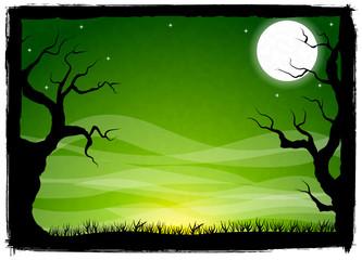 gruseliger Halloween Hintergrund