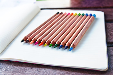 Colored pencils 1