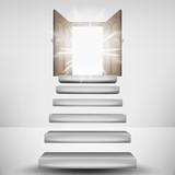 levitating stairway leading to heaven door flare