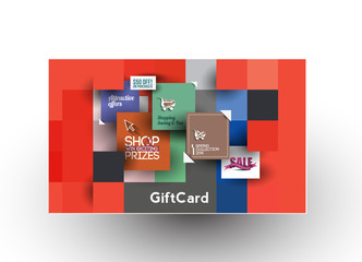 Beautiful gift-card