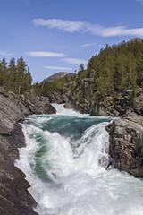 Wasserfälle im Ottadalen