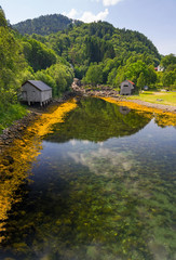 Norwegian clear river