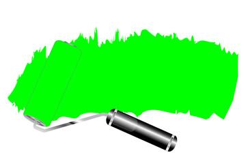 Farbrolle - Grün