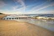 canvas print picture - Krajobraz Morski, morze, plaża