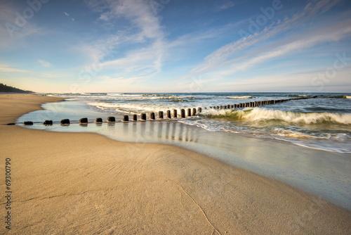 canvas print picture Krajobraz Morski, morze, plaża
