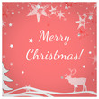 canvas print picture - Merry Christmas