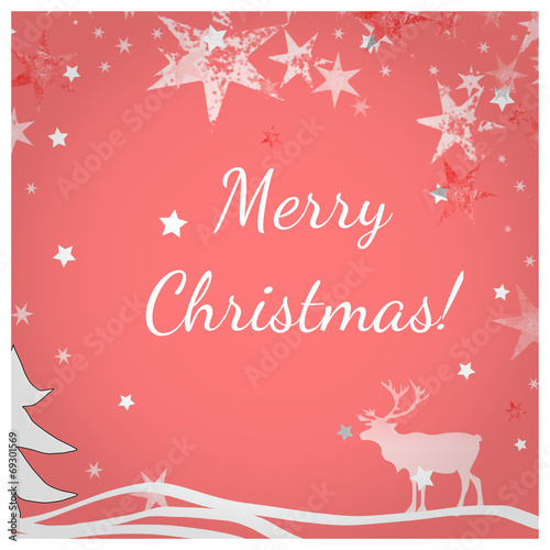 canvas print picture Merry Christmas