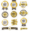Golden Vector Commercial Labels - 69301705