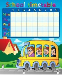 School timetable composition 8
