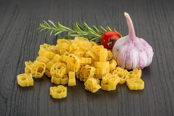 Raw kids pasta