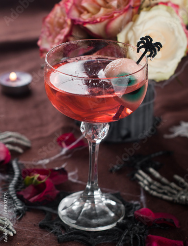 canvas print picture Halloween drink