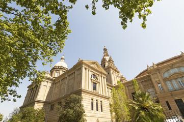 Placa De Espanya, the National Museum in Barcelona