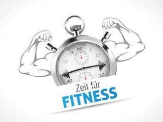 Stoppuhr - Zeit fur Fitness