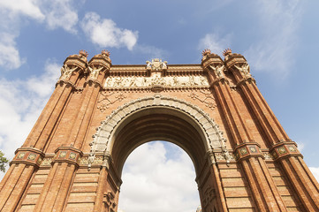 Triumphal Arch, archway structure in Barcelona, Spain