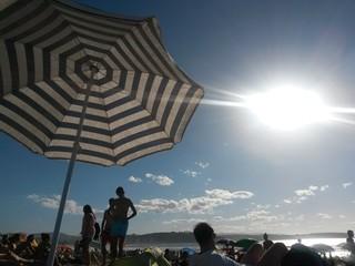 Playa radiante