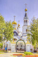 Pokrovskoe-Tatianinsky Cathedral Cheboksary Russia