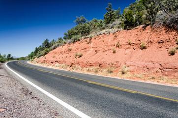 Kurve in der Wüste