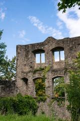 Ruine einer alten Burg