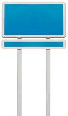 panneau rectangulaire et panonceau pour affichage