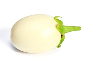Weisse Aubergine