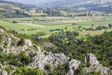 Rural mountain region