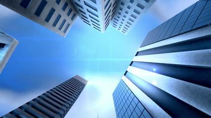 Metropolitan City loop animation