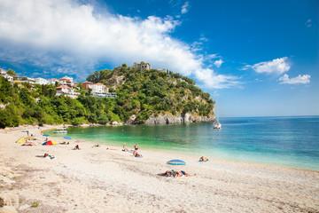 Valtos beach near Parga town of Syvota area in Greece.