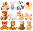 Stuffed animals
