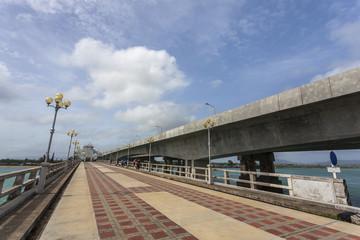 The Sarasin Bridge connect Phang Nga province to Phuket