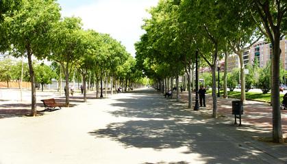 Paseo de los jardines de Can Dragó, Barcelona