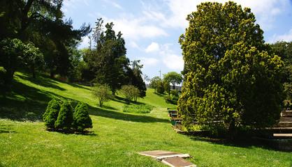 Jardines de Mosen Cinto Verdaguer en Montjuic, barcelona