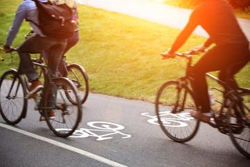 .Bike lane