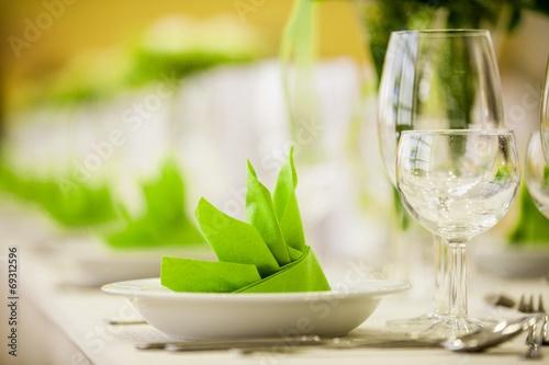 Papiers peints Table preparee Gedeck V