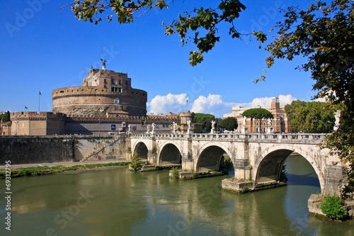Fototapeta Engelsburg in Rom
