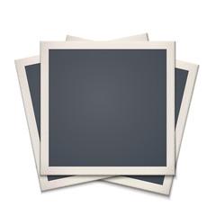Blank retro photo frame